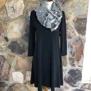Loft Align Grey Dress
